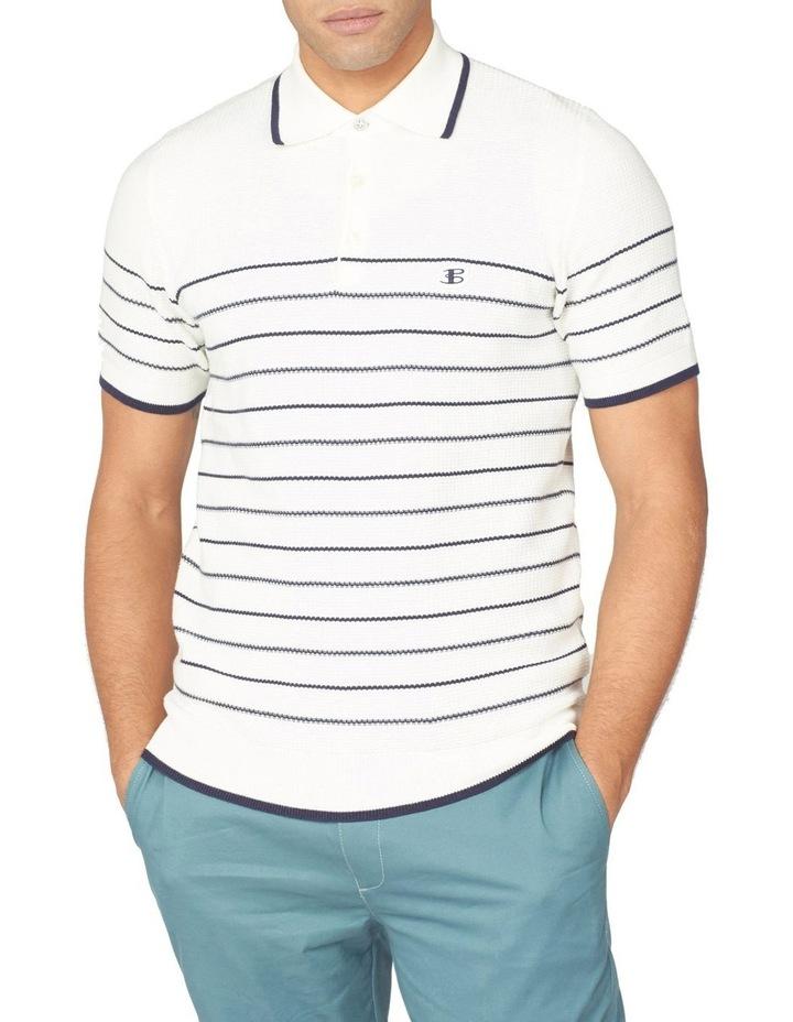Textured Stripe Polo image 1
