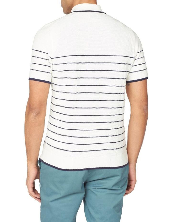 Textured Stripe Polo image 3