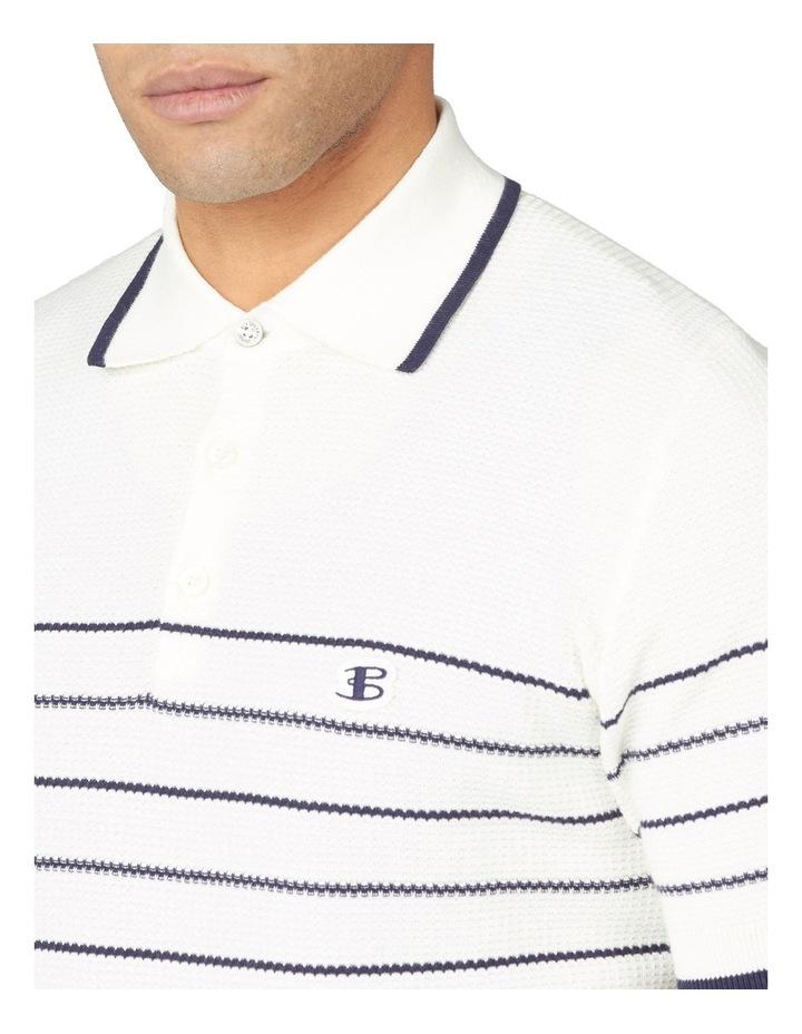 Textured Stripe Polo image 4