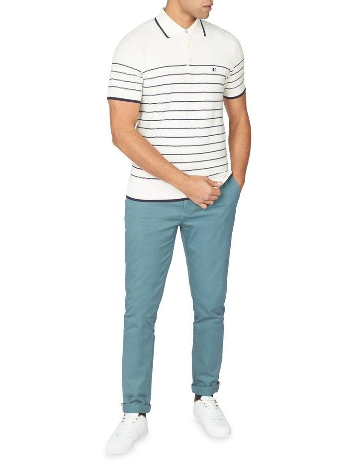 Textured Stripe Polo image 5