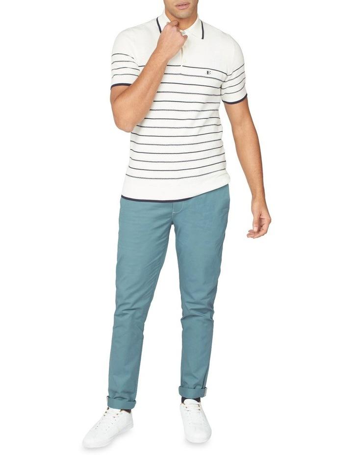 Textured Stripe Polo image 6