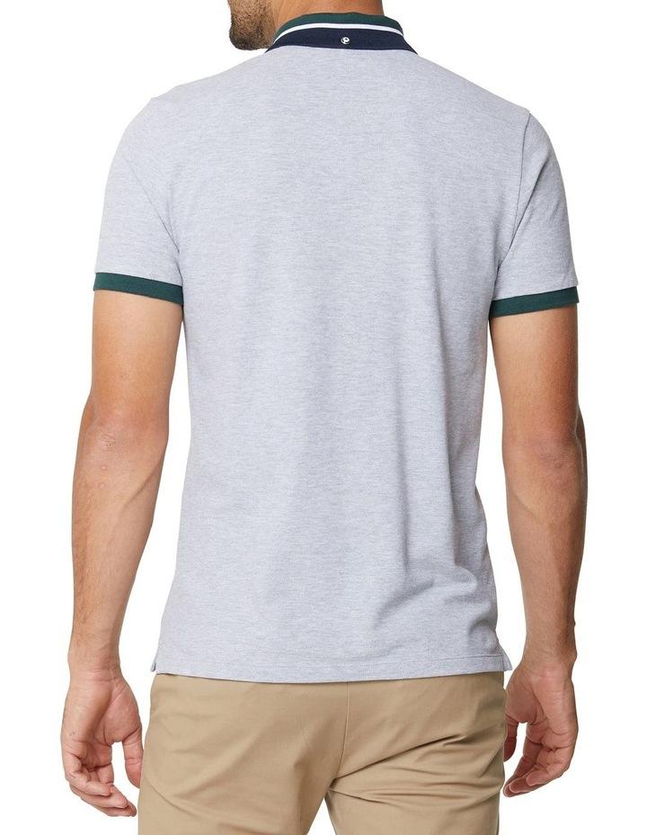 New Script Contrast Collar Polo image 2