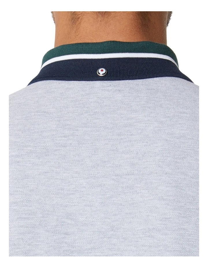 New Script Contrast Collar Polo image 4