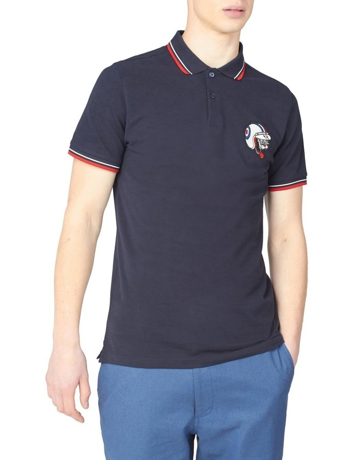 Embroidered Cat Polo image 1