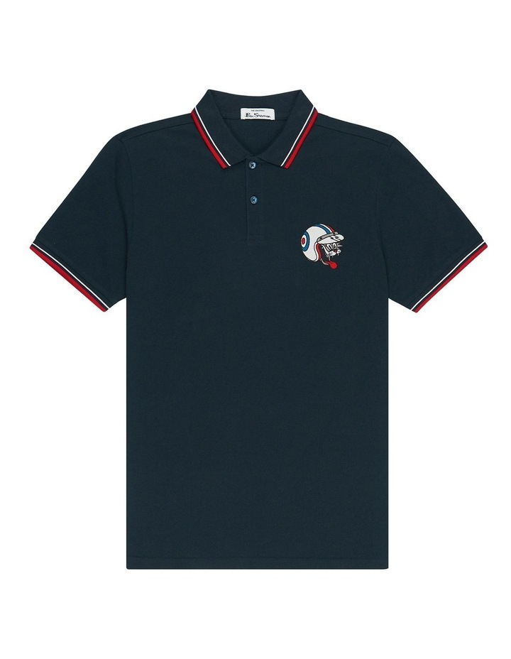 Embroidered Cat Polo image 3