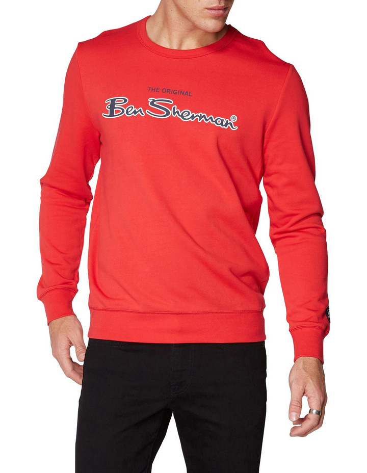 Logo Colour Block Sweat image 1