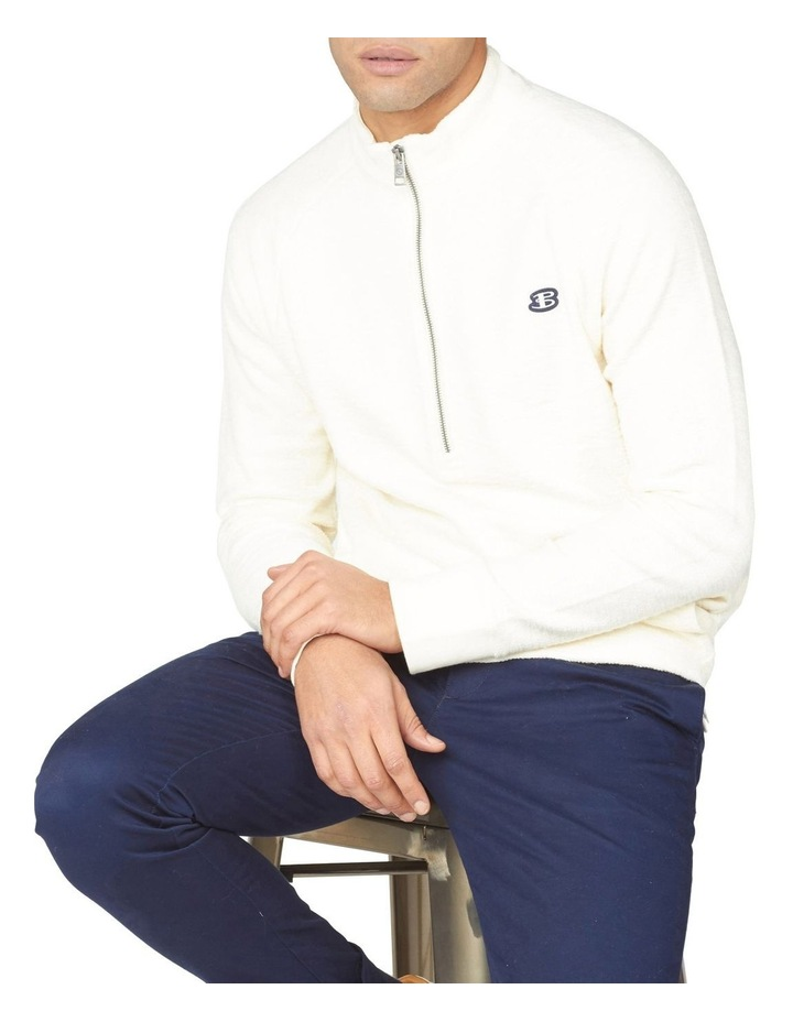 Loopback Funnel Neck Sweat image 5