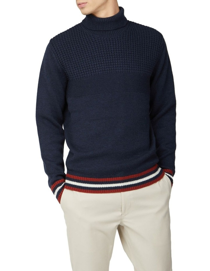 Textured Roll Neck Knit image 1