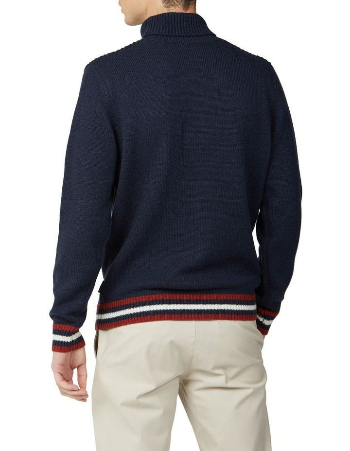 Textured Roll Neck Knit image 2