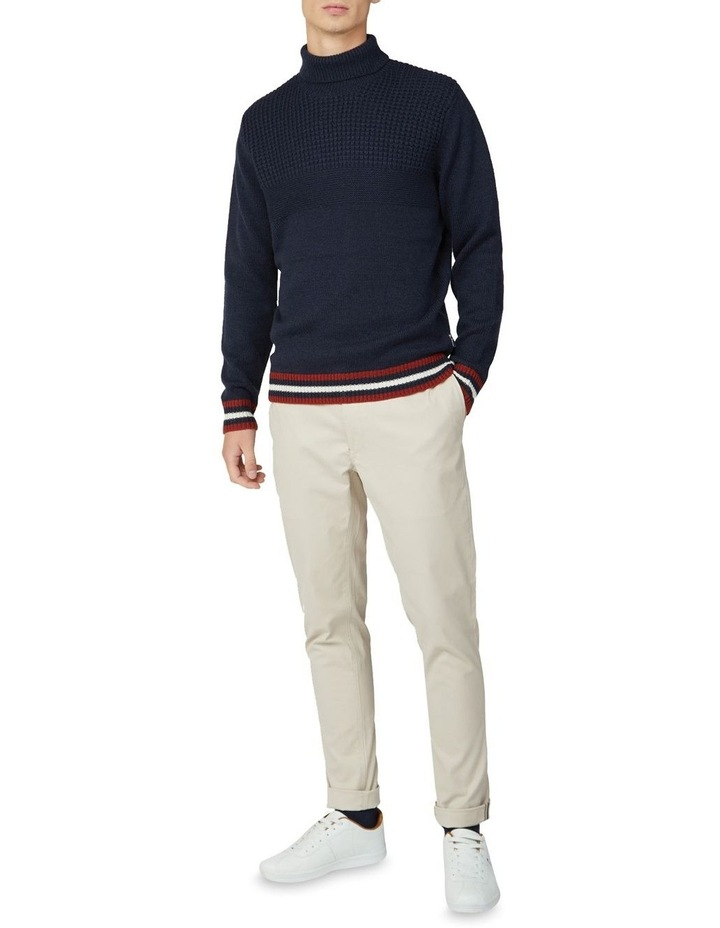 Textured Roll Neck Knit image 4