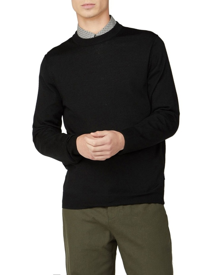 Signature Merino Wool Blend Knit image 1