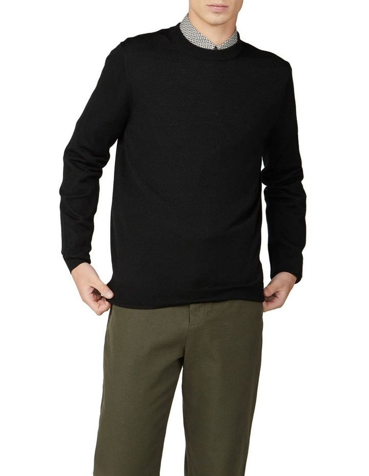 Signature Merino Wool Blend Knit image 3
