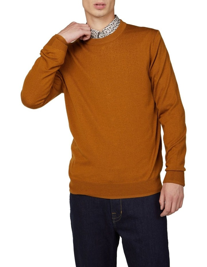 Signature Merino Wool Blend Knit image 1