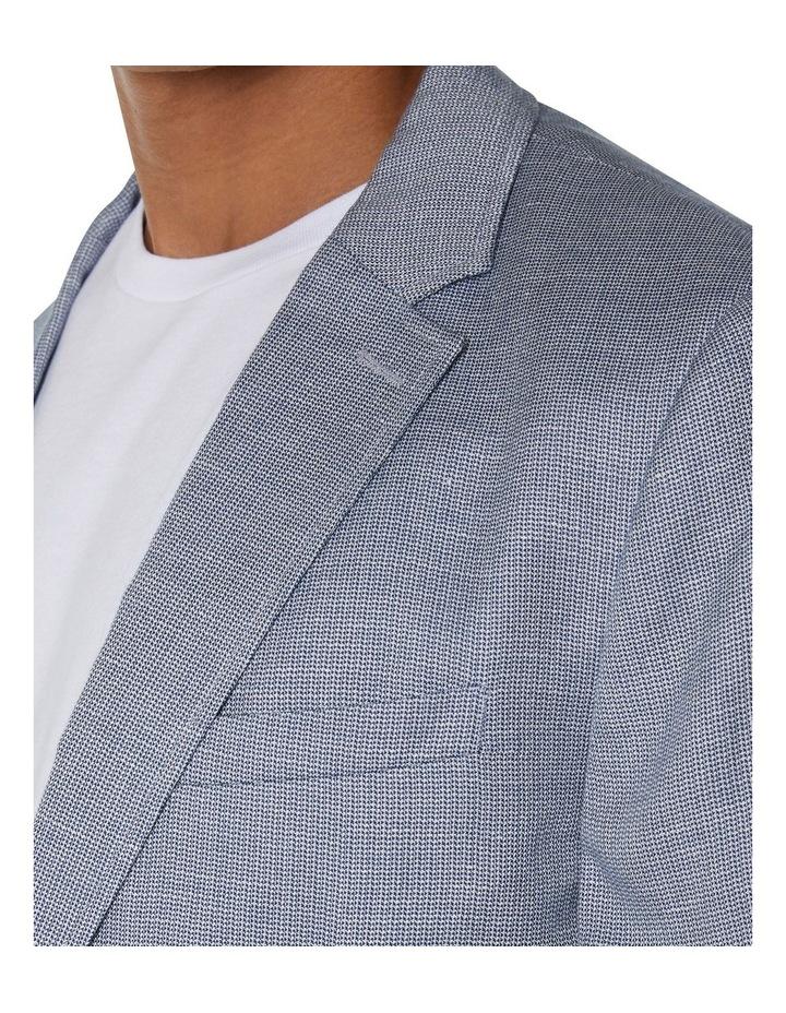 Textured Linen Blend Blazer image 2