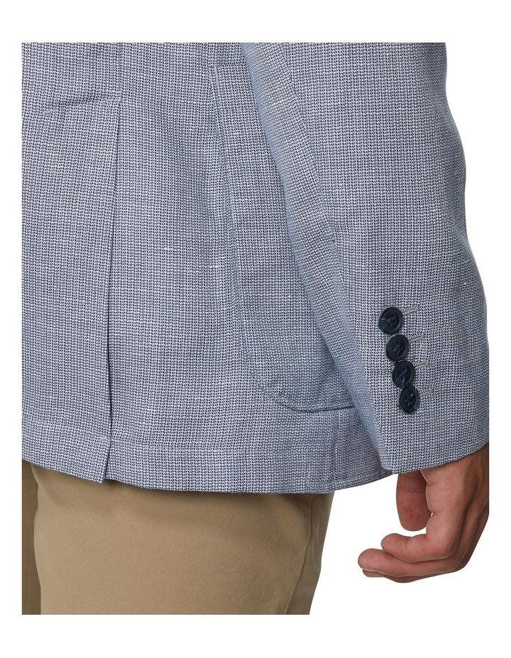 Textured Linen Blend Blazer image 3