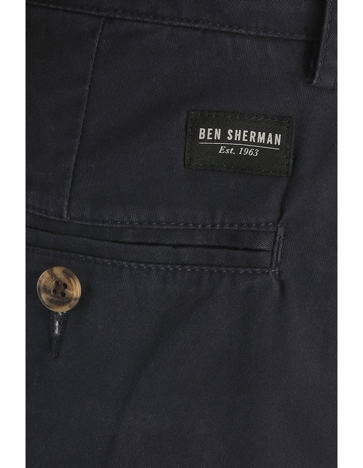 Slim Stretch Chino Navy Blazer image 4