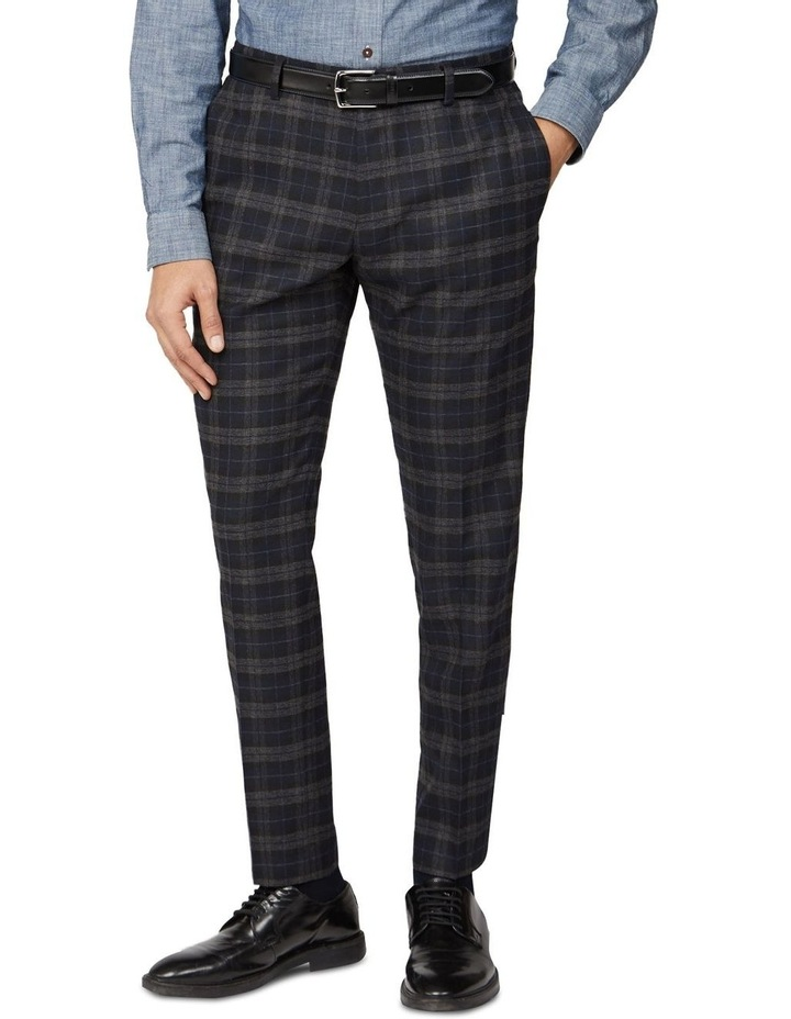 Brushed Check Slim Trouser image 1