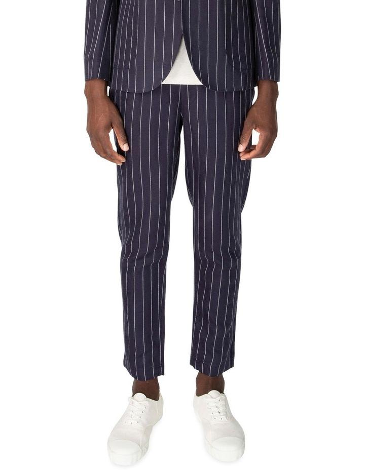 Pin Stripe Linen Trouser image 1