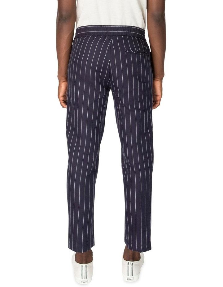 Pin Stripe Linen Trouser image 2