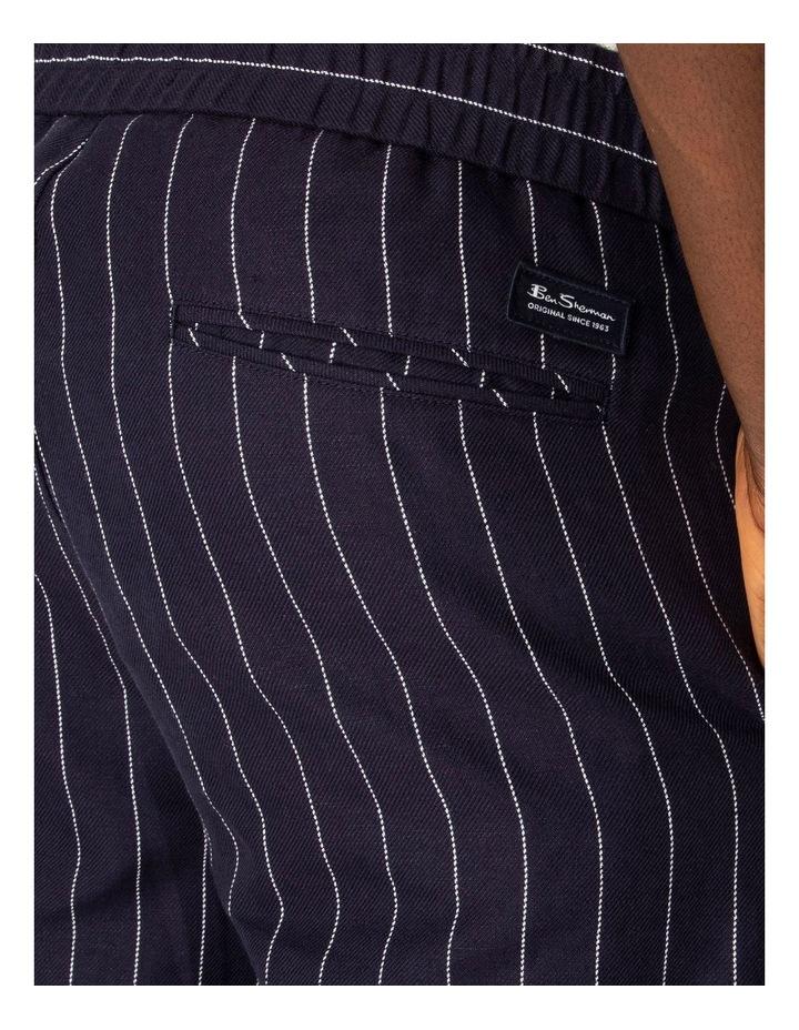 Pin Stripe Linen Trouser image 3