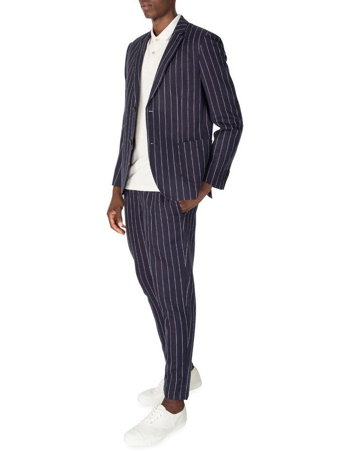 Pin Stripe Linen Trouser image 4