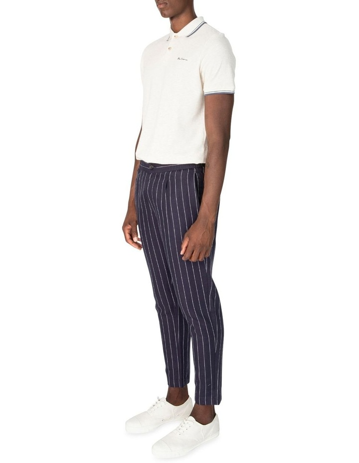 Pin Stripe Linen Trouser image 5