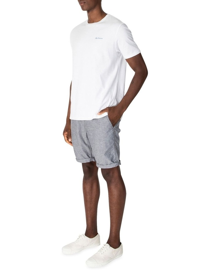 Chambray Texture Relaxed Short image 2