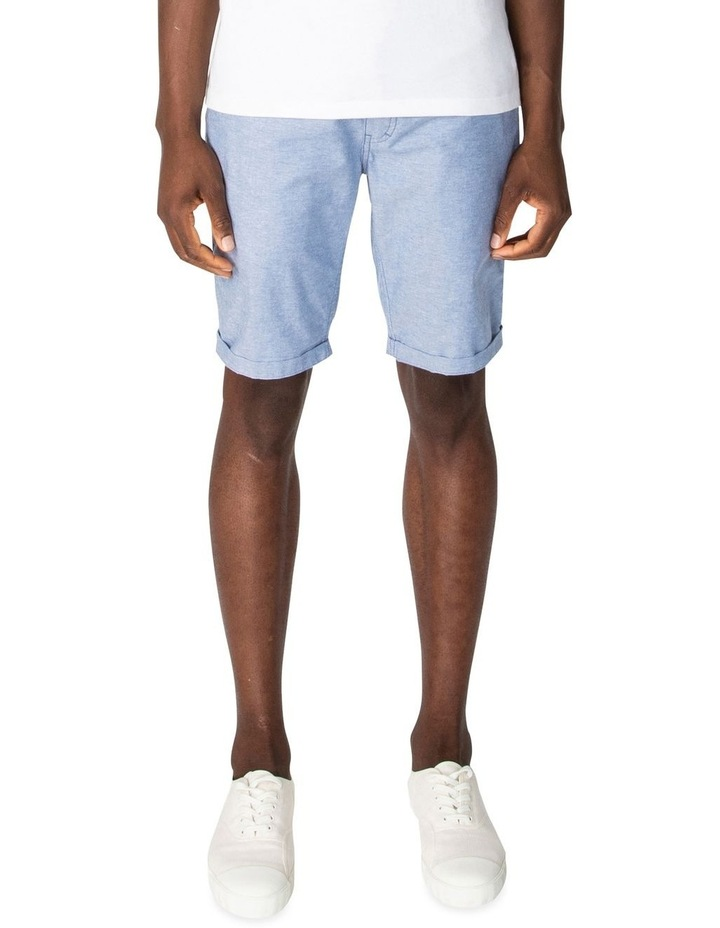 Chambray Texture Relaxed Short image 1