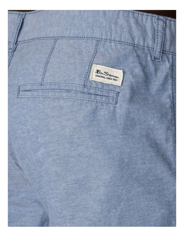 Chambray Texture Relaxed Short image 3