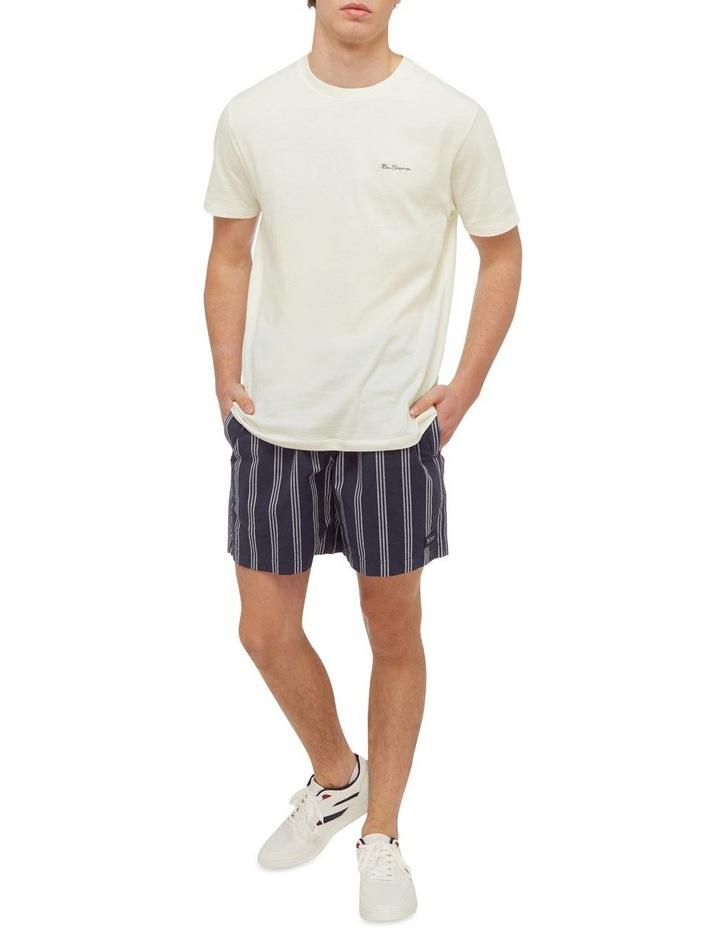 Stripe Elastic Short image 4