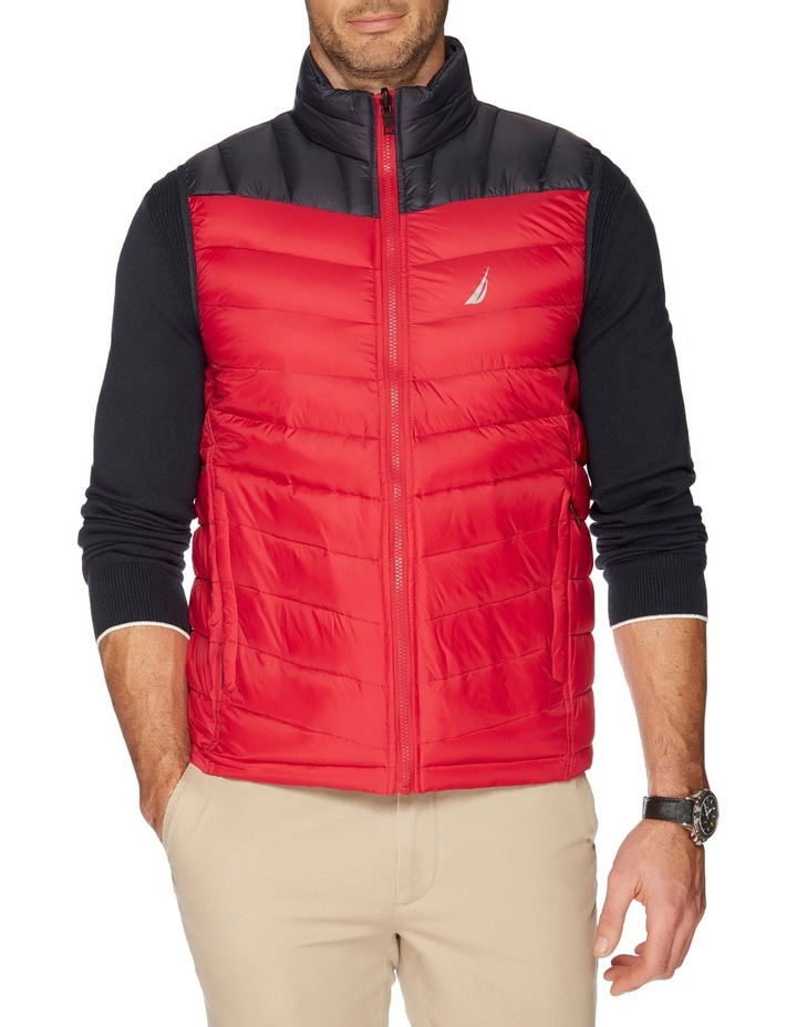 Hooded Down Quilted Vest image 2
