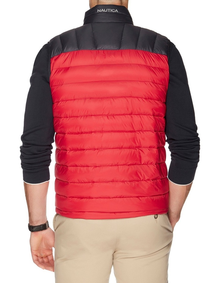 Hooded Down Quilted Vest image 3