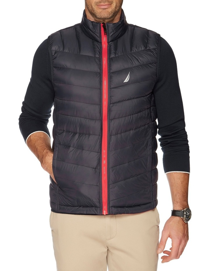 Hooded Down Quilted Vest image 4