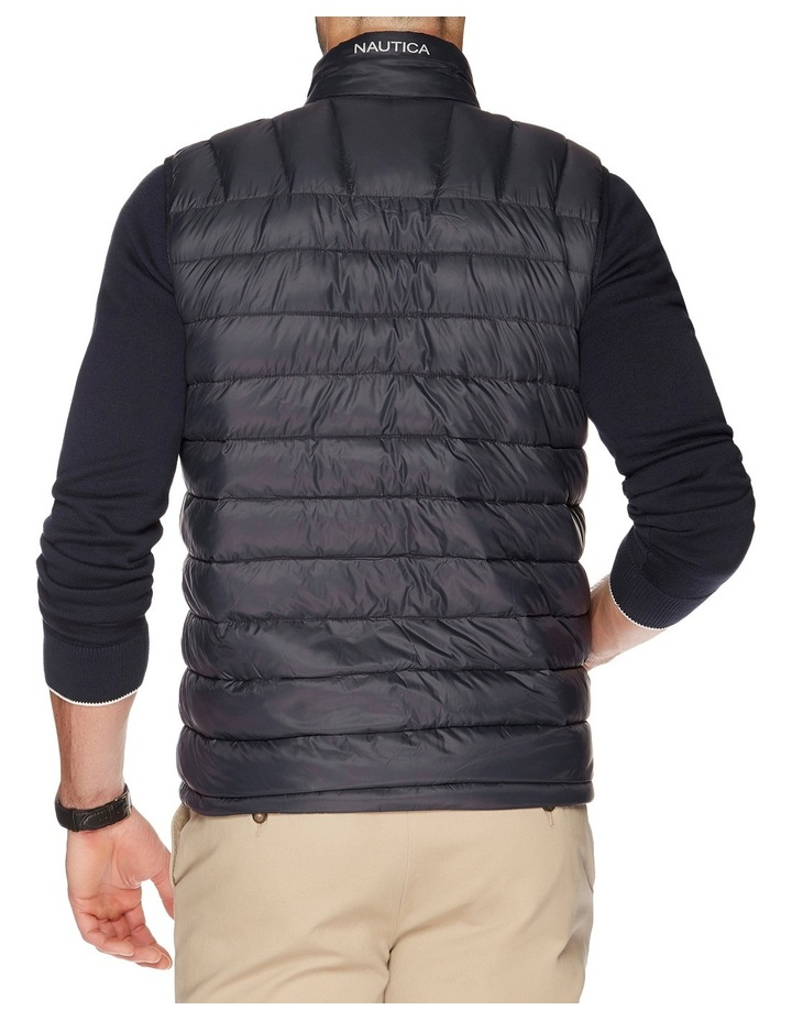 Hooded Down Quilted Vest image 5