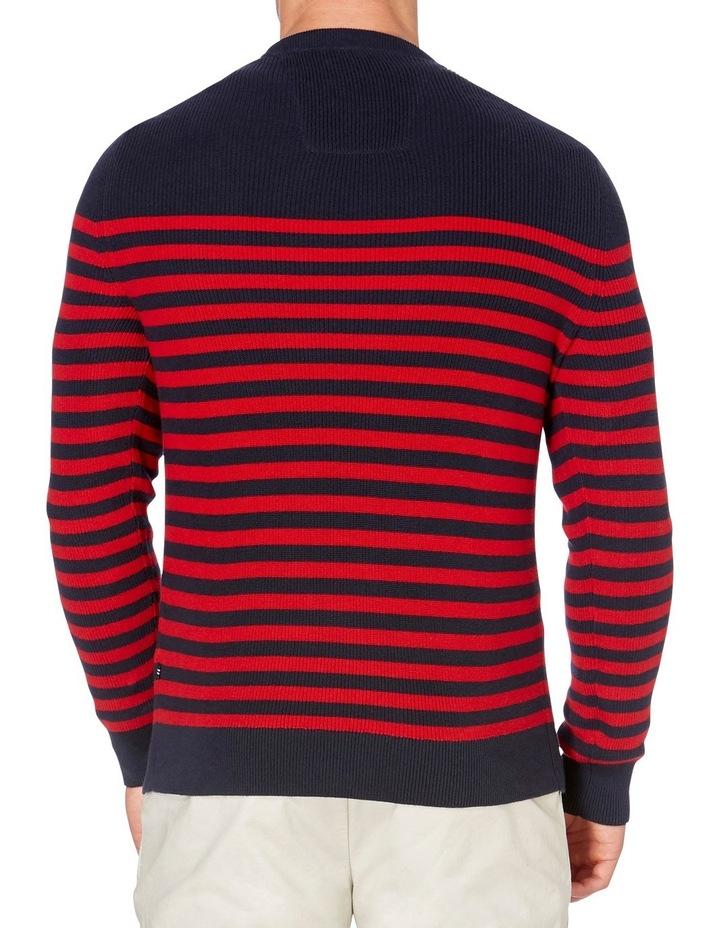 Crew Neck Bretton Stripe Sweater image 2