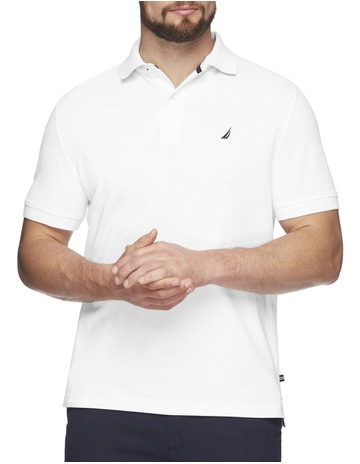 014dd790e7 Out of stock. NauticaShort Sleeve Solid Polo