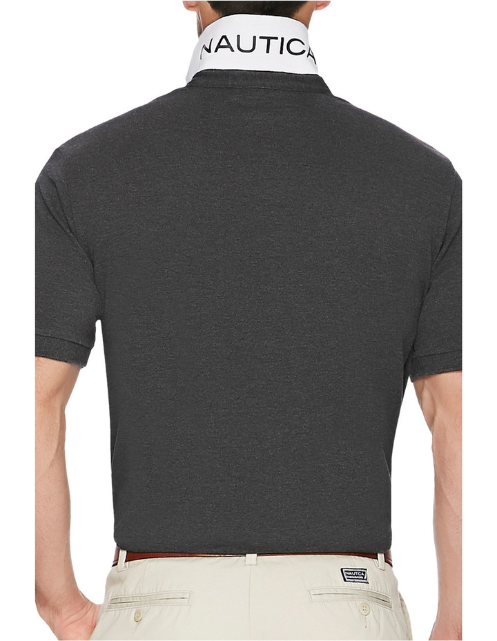 Short Sleeve Solid Polo image 2