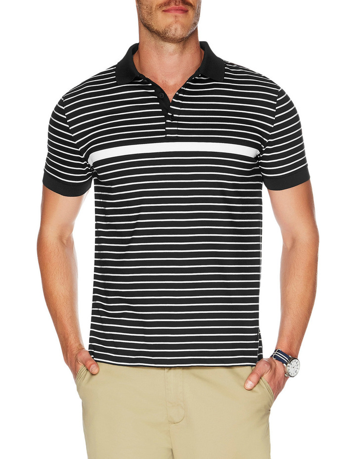 Slim Fit Striped Polo image 1