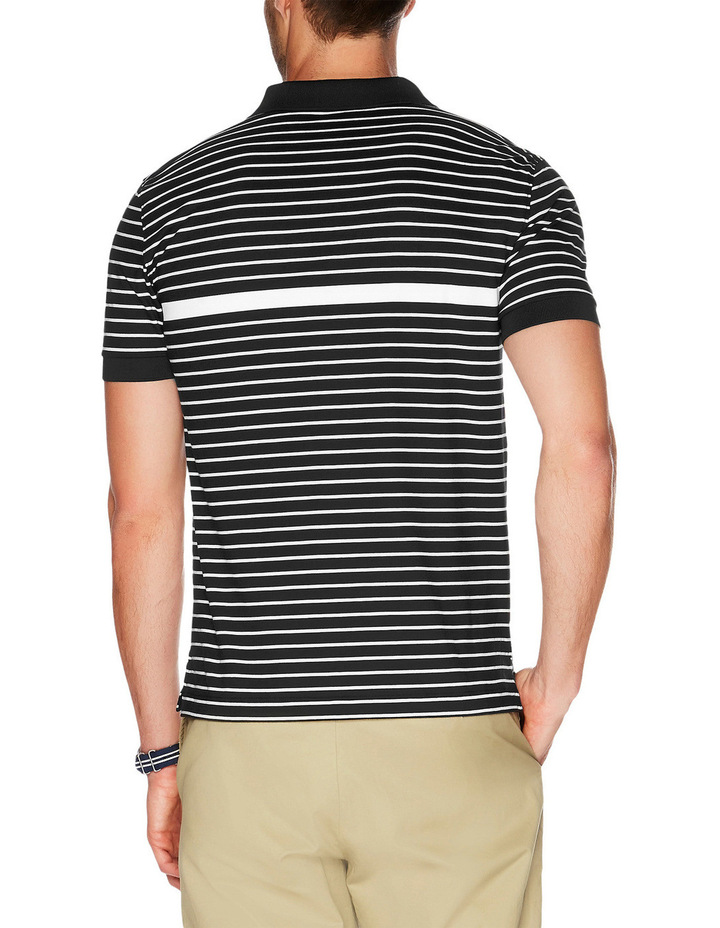Slim Fit Striped Polo image 2