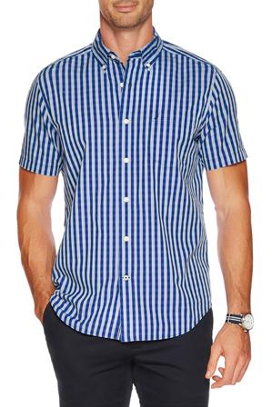 Nautica - Short Sleeve Gingham Shirt