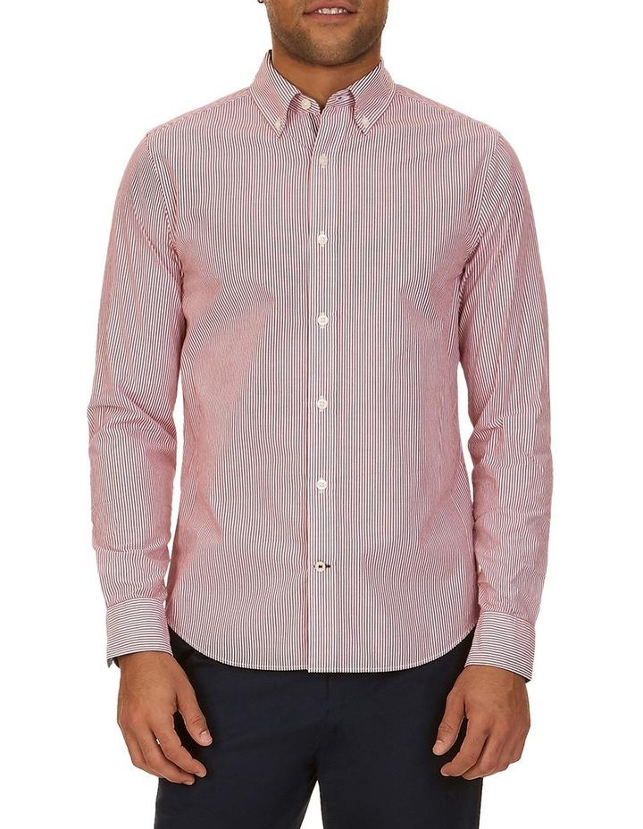 Long Sleeve Small Bengal Stripe Shirt image 1