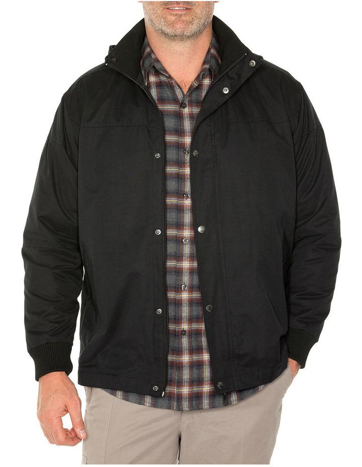 Sea Suede Hooded Jacket image 1