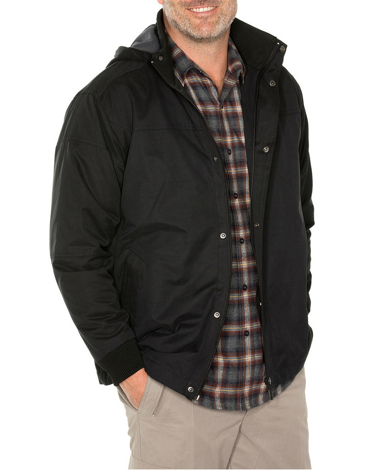 Sea Suede Hooded Jacket image 2