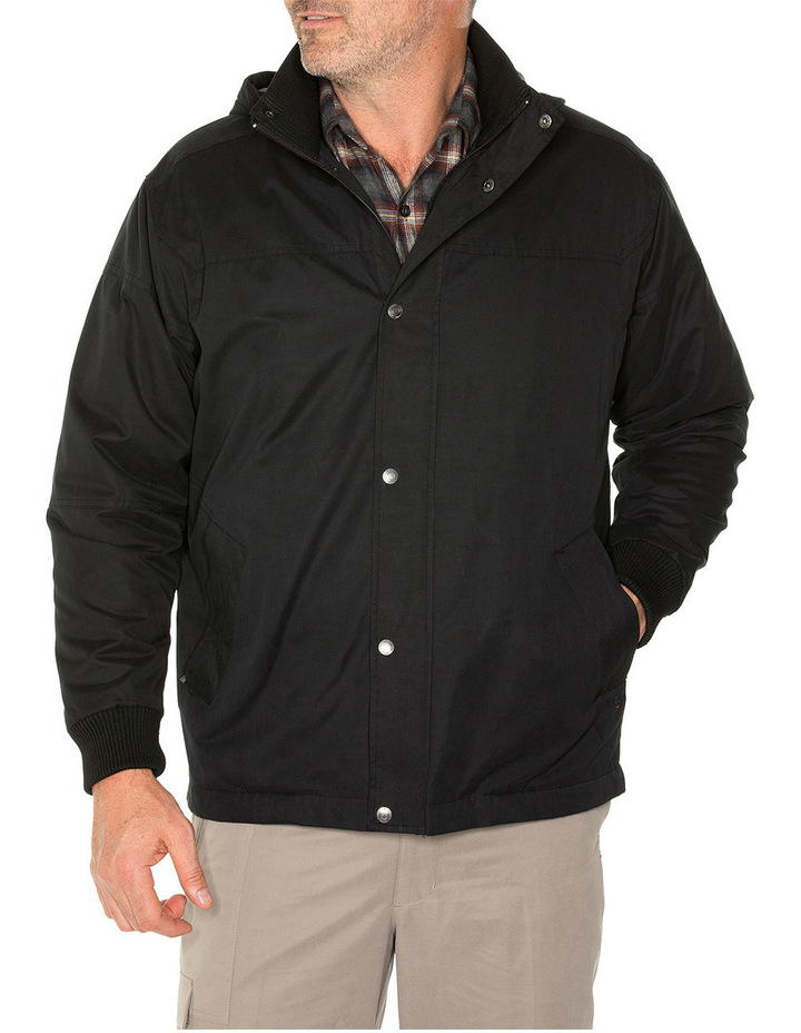 Sea Suede Hooded Jacket image 4