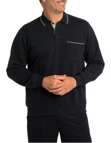 b14c80bdc BreakawayClassic Snowy Mountain Fleece Polo. Breakaway Classic Snowy  Mountain Fleece Polo