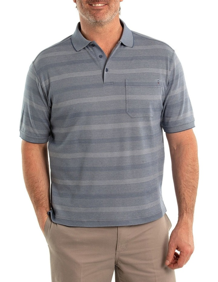 Stripe Pima Luxe Polo image 1