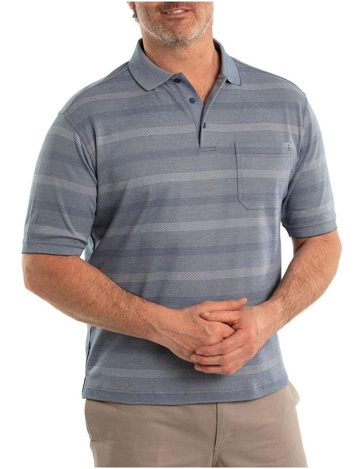 Stripe Pima Luxe Polo image 3