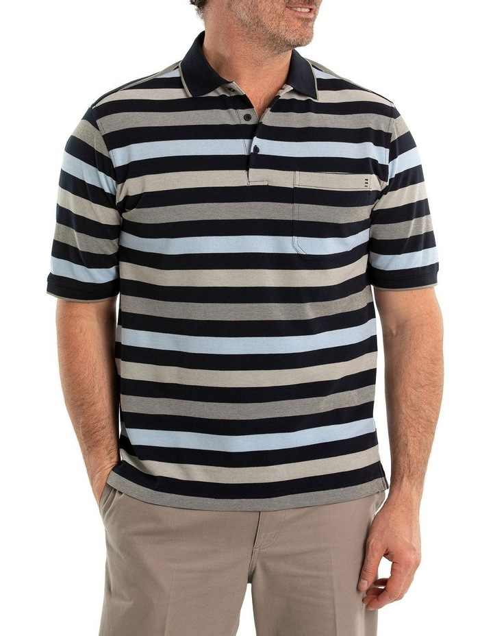 Rutherford Cotton Tuck Polo image 1