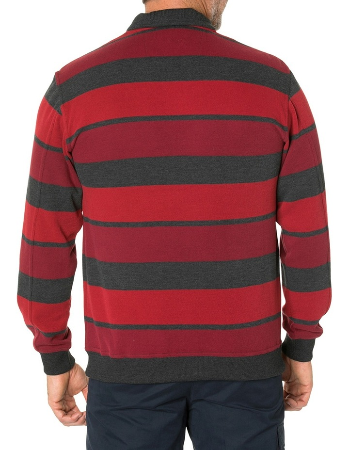Hugo French Rib Half Zip Knit image 3