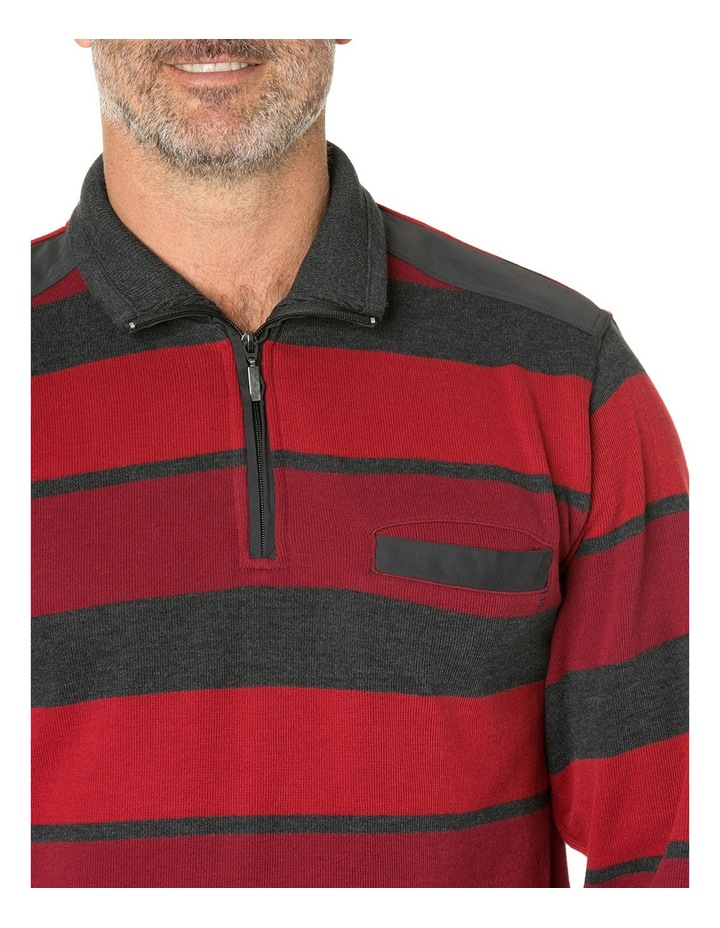 Hugo French Rib Half Zip Knit image 4